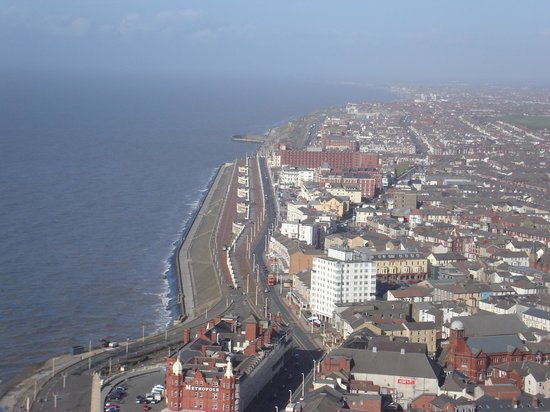 Μπλάκπουλ, UK: Blackpool from the Tower