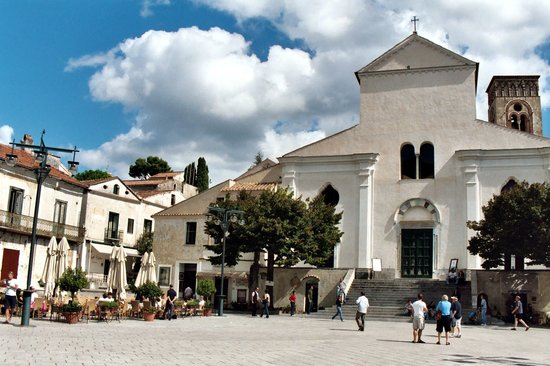 The Piazza Vescovado in Ravello