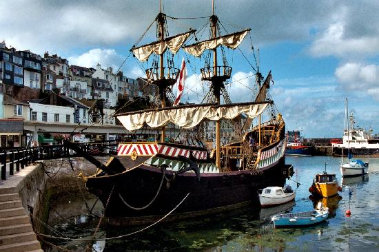 Brixham, UK: The Golden Hind