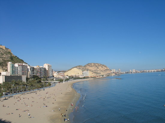 Melia Alicante: View from room 4039