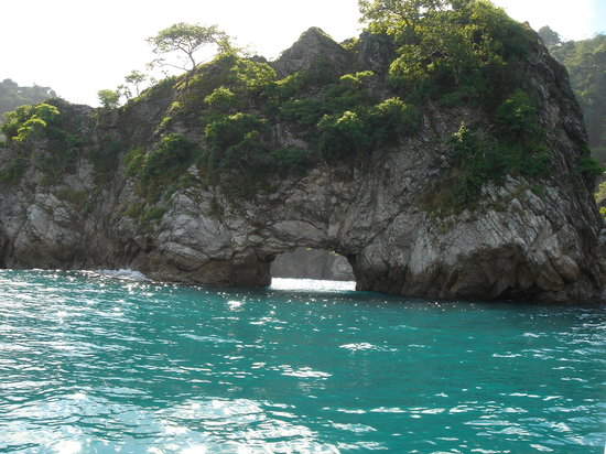 Tambor, Costa Rica: Beautiful water enroute Tortuga Island 8/05