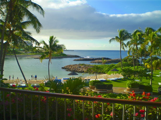 Kapolei, Havai: Our view from our balcony