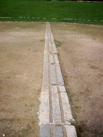 Finish Line at Ancient Olympia