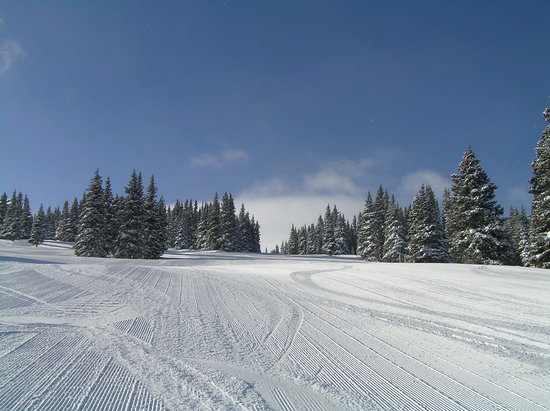 Snowmass Village, CO : Groomed Run at Snowmass