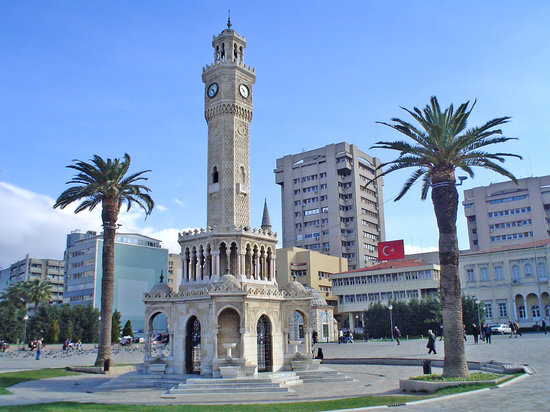 , : Izmir, clock tower