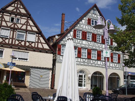 Baden-Wurttemberg, Germany: Lorch Marktplatz