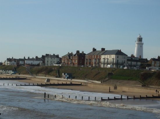 Southwold. Apologies for being slanted but it was very windy