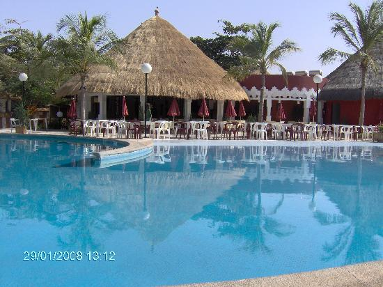 Saly, Senegal: Piscine