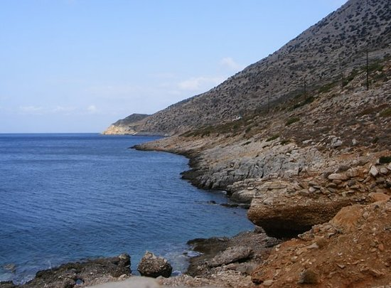 Kamares, Greece: View from private balcony of Room 6