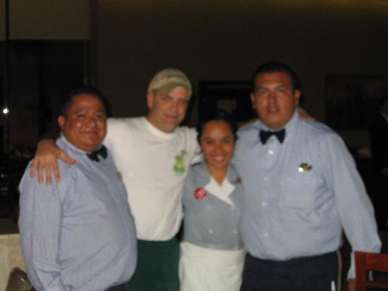 Fiesta Inn Cuautitlan: Cesar and Hotel Staff