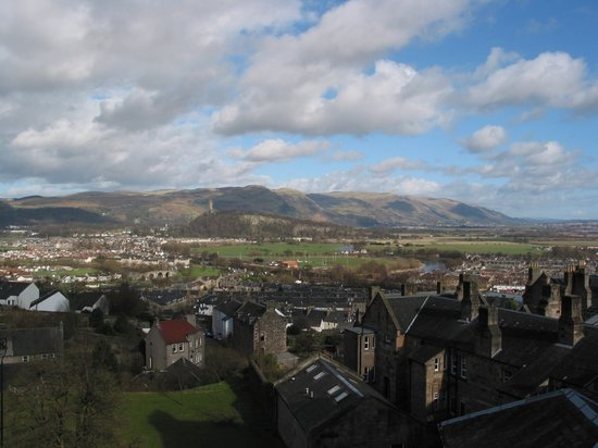 Stirling - Stirling Castle - Views To Stirling