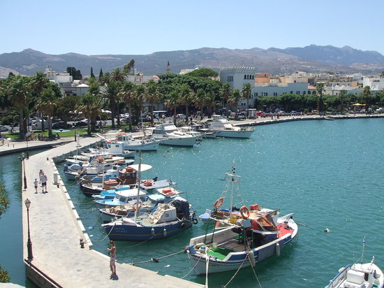 Kos Town Harbour, view from the Castle