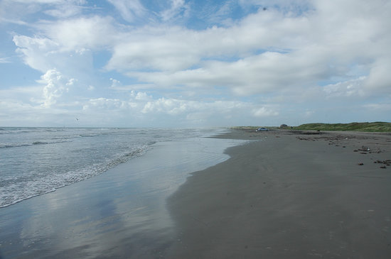 Beautiful Deserted Beach Picture Of Mustang Island