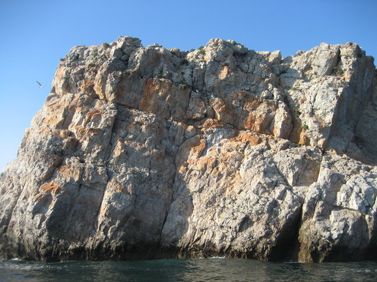 Sagres, Portugal: Cliffs near Martinhal