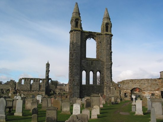 St. Andrews, UK : Saint Andrews - Saint Andrews Cathedra