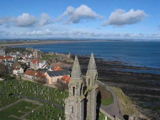 St. Andrews, UK : Saint Andrews - Saint Andrews Cathedral - Views