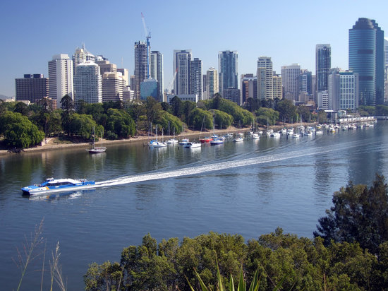 Брисбен, Австралия: Brisbane and the River