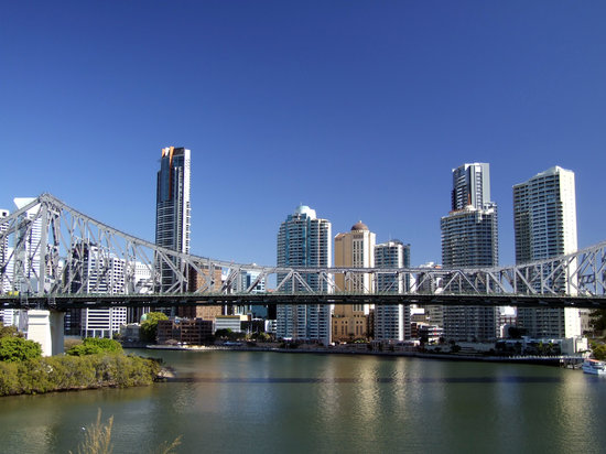 Брисбен, Австралия: Brisbane and Story Bridge