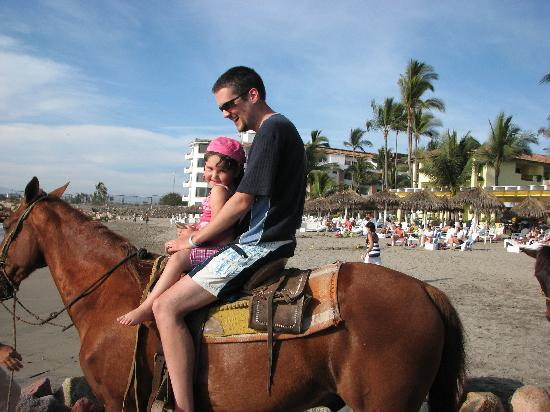 Crown Paradise Club Puerto Vallarta: Horseback Riding on the Beach