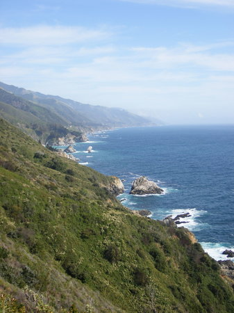 Plaa Big Sur, Kalifornia: The Big Sur Coast Apr 07