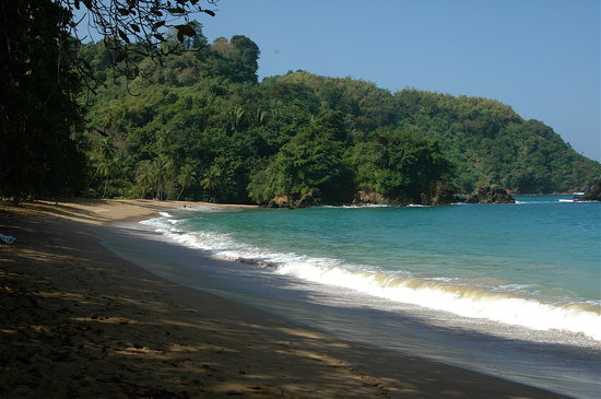 Tobago: Englishmans bay. Lovely beach, but not 100% safe