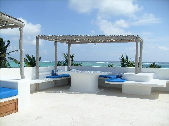 Azul Resort: rooftop of the south villa