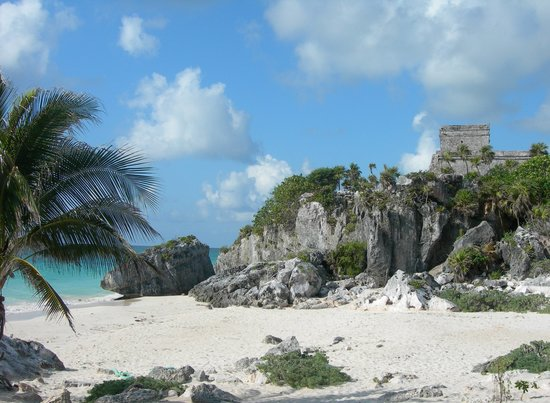 Akumal, : Ruins at Tulum