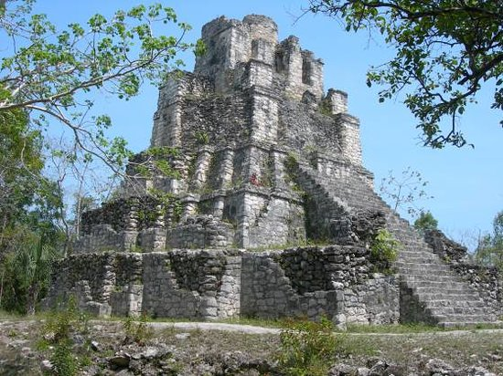 Akumal, Mexiko: Castillo at Muyil