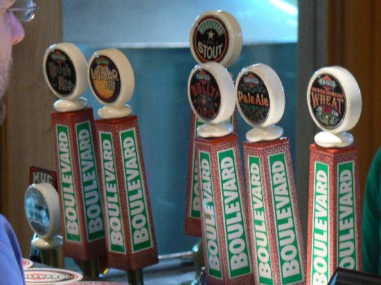 Boulevard Tap Handles Picture Of Boulevard Brewing