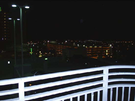 Balcony view at night picture of wyndham ocean walk for Balcony at night