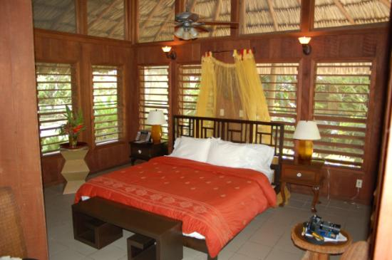 Chan Chich Lodge: Bedrooom of Cabana #10