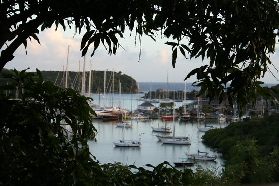 English Harbour, Антигуа: View from room