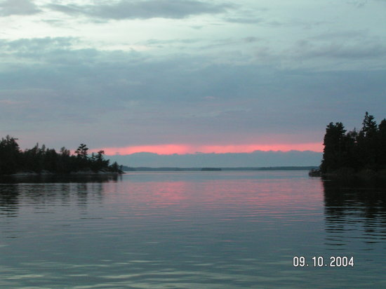 Lake Of The Woods Ontario Canada Address Attraction