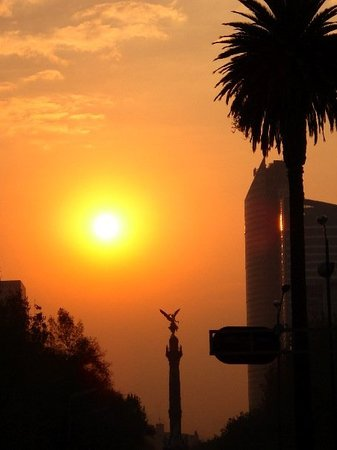 Mexico City, Mexico: Sunset's of Angels