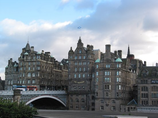 , UK: Edinburgh - Old Town