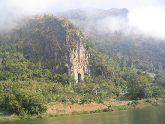 Laos : mist on the Nam Ou