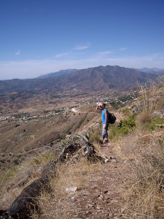 Hiking in Sierra de Mijas