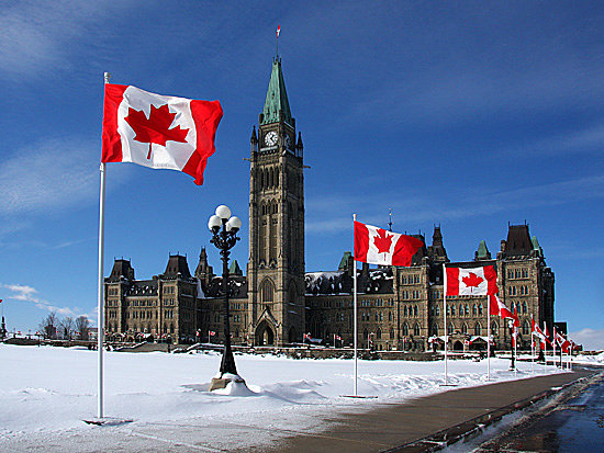 Ottawa, Canad: Flag Day