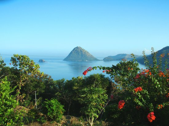 Labuan Bajo, Indonesia: An amazing view from Golo Hilltop Hotel