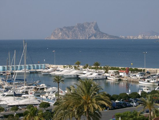 Calpe from Moraira