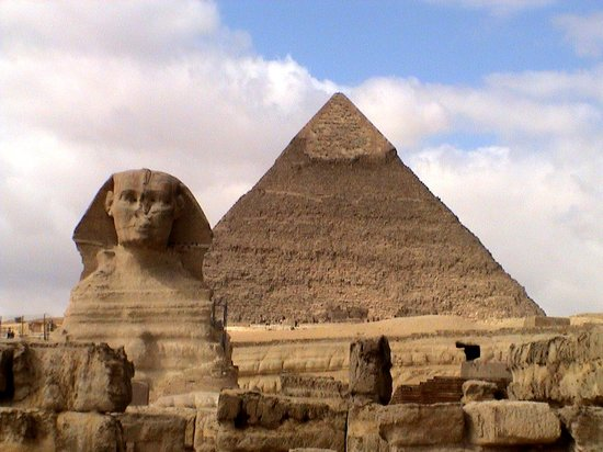 Giza, Egypt: Visit to Cairo &amp; pyramids