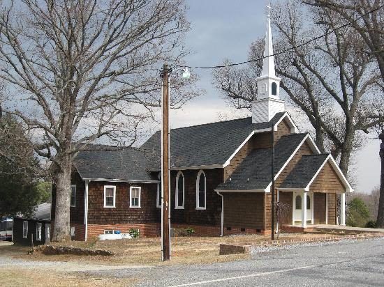 Baptist (I think!) church in Landrum, SC
