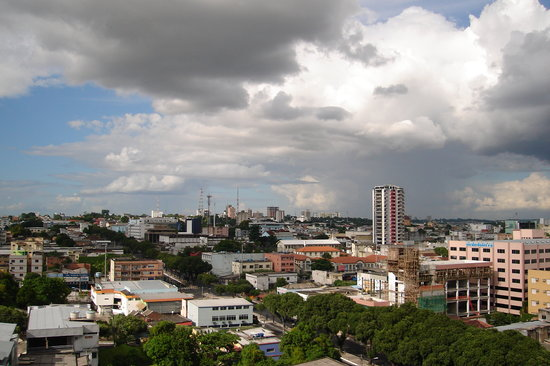Manaus, AM: View from TajMahal Hotel