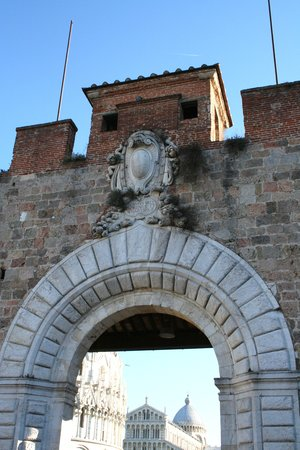 Pisa, Italy: entrance