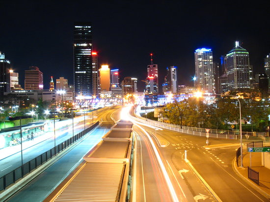 Stuning Brisbane by Night