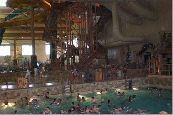 Wave Pool Amp Big Slides Picture Of Great Wolf Lodge