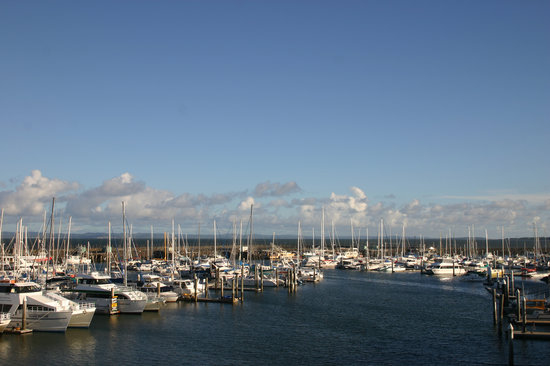 Hervey Bay, Australia: view from hotel