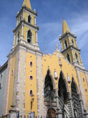 Chuch in Old Mazatlan