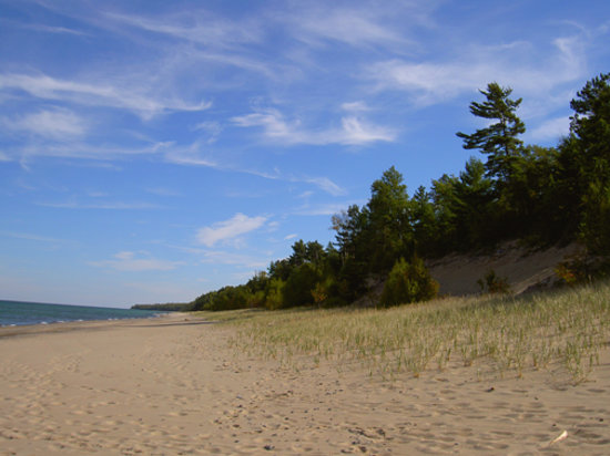 Munising, MI: Miles of beautiful dunes and beaches