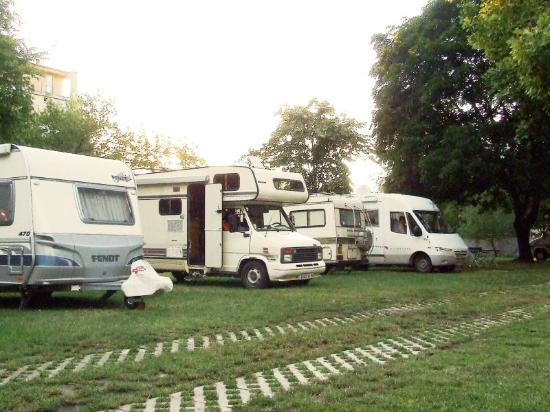 Haller Camping: Guests with mobile homes, Camping Haller
